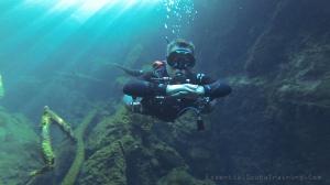 Basic sidemount buoyancy and trim control.