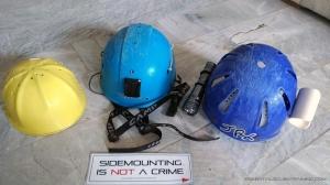 Cave Diver Helmet
